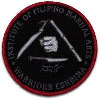 Eskrima sew-on patch