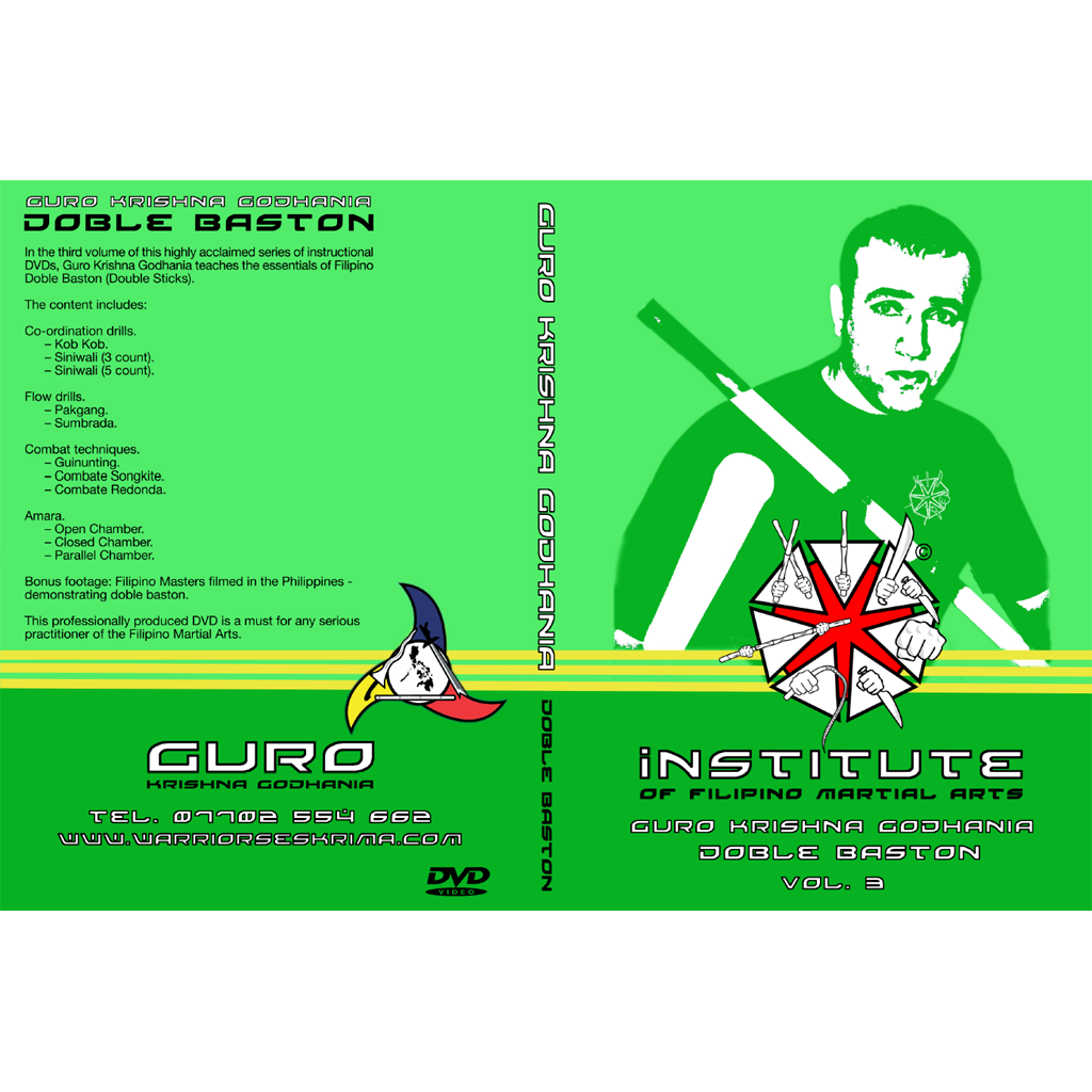 Double stick instructional DVD