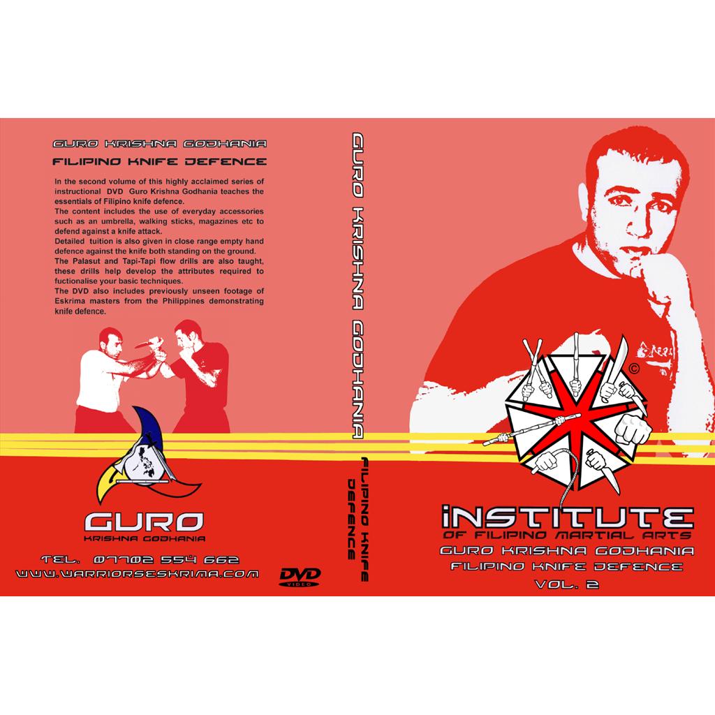 Knife defence instructional DVD