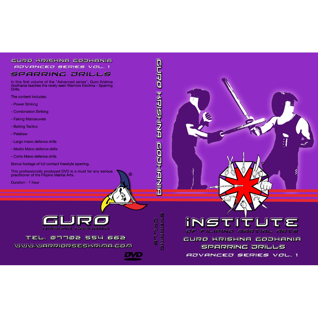 Advanced sparring drills instructional DVD